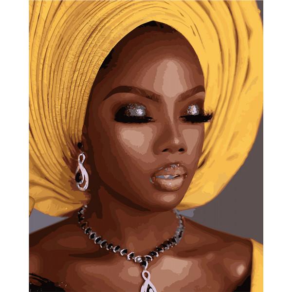 """Картина по номерам """"Африканский стиль"""""""