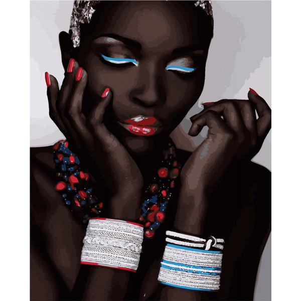 "Картина по номерам ""Африканские традиции"""