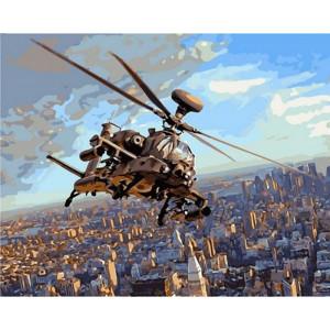 """Картина по номерам """"Полет над Нью-Йорком"""""""