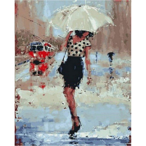 "Картина по номерам ""Симфония дождя"""