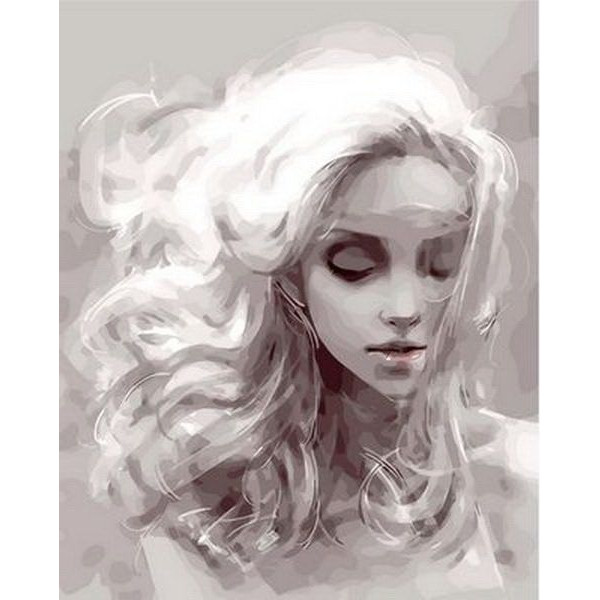 """Картина по номерам """"Девушка из снов"""""""