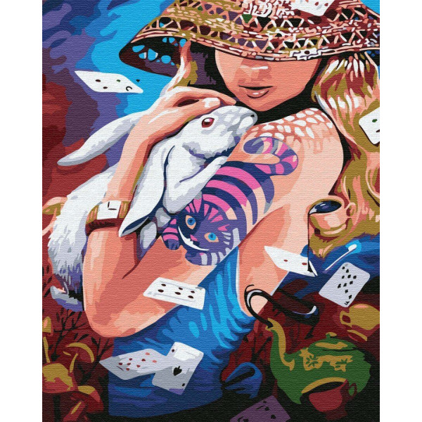 "Картина по номерам ""Алиса нашего времени"""
