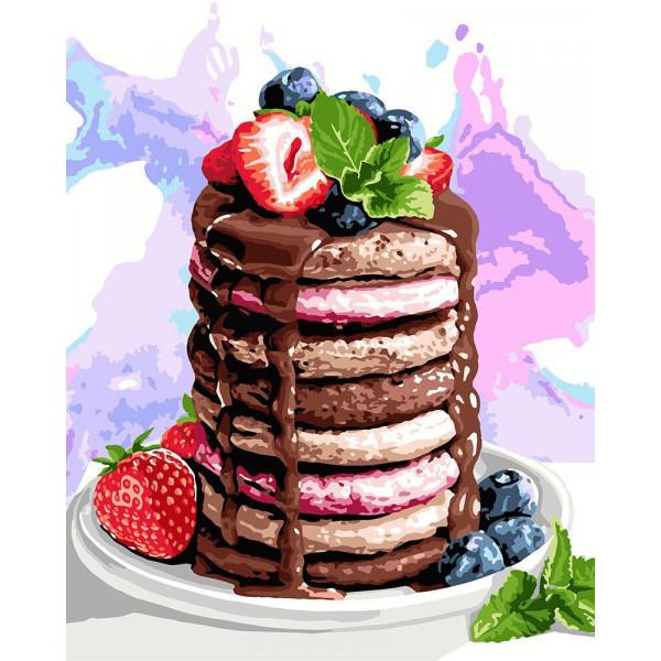 "Картина по номерам ""Вкусности на завтрак"""