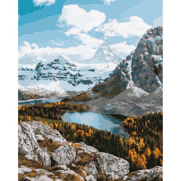 "Картина по номерам ""Гора Ассинибойн"""