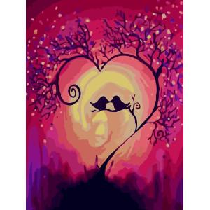 """Картина по номерам """"Вечная любовь"""""""