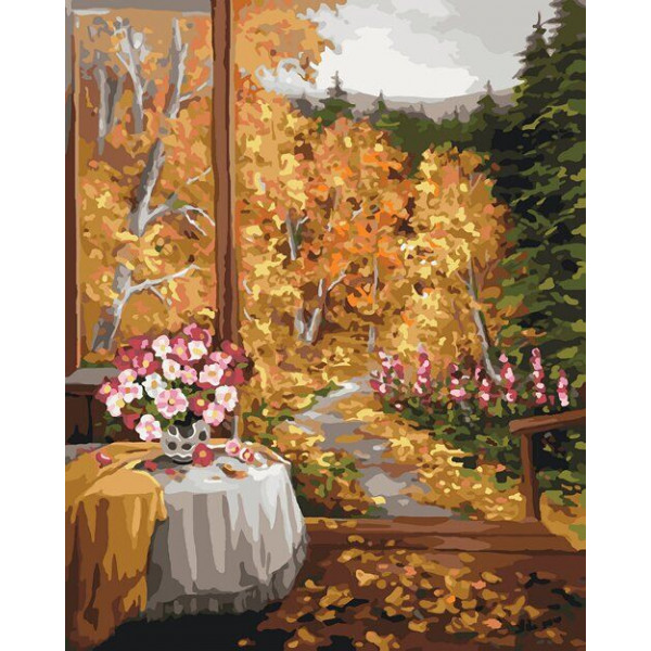 "Картина по номерам ""Волшебный запах осени"""