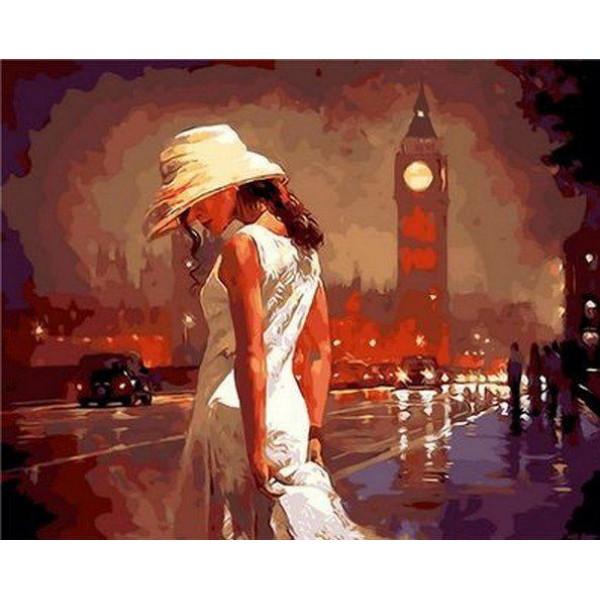 "Картина по номерам ""Вечер в Лондоне"""