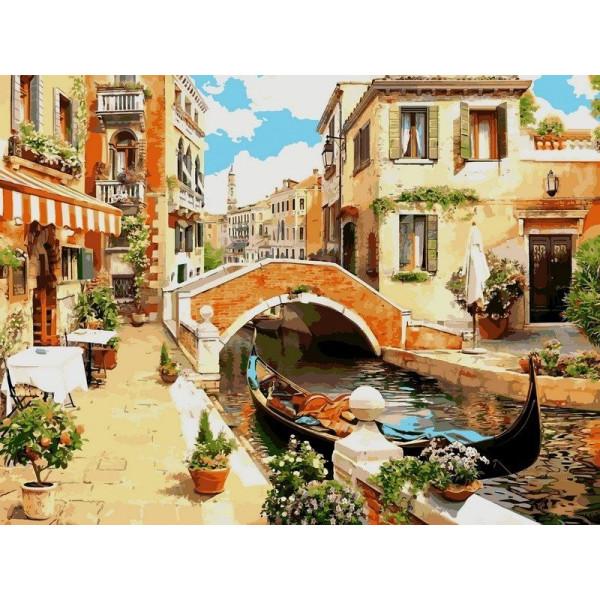 "Картина по номерам ""Венецианский мостик"""
