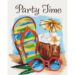 "Картина по номерам ""Party time"""