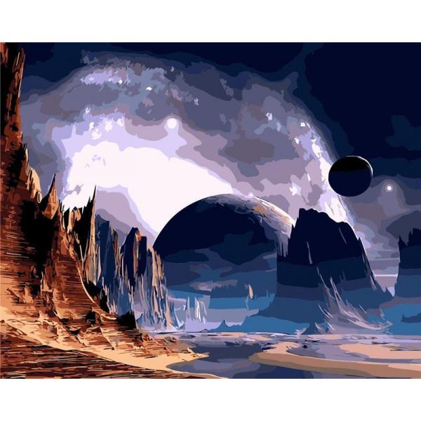 """Картина по номерам """"Далекая планета"""""""
