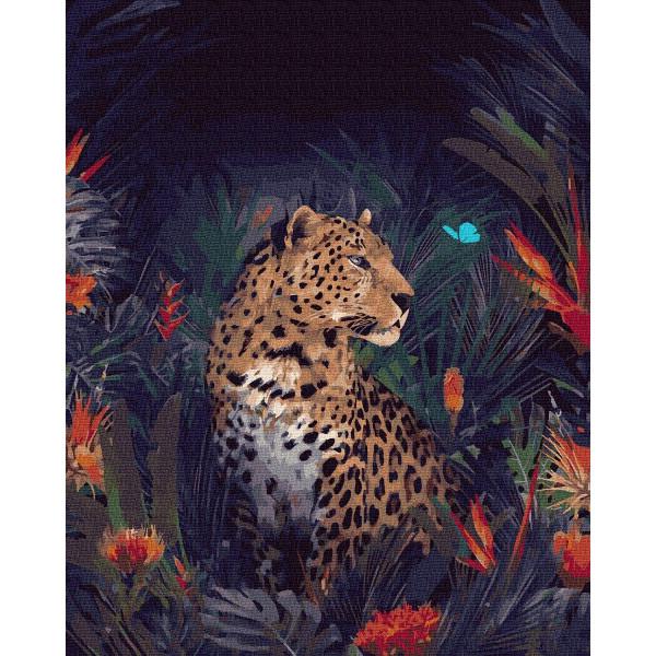 "Картина по номерам ""Волшебный гепард"""