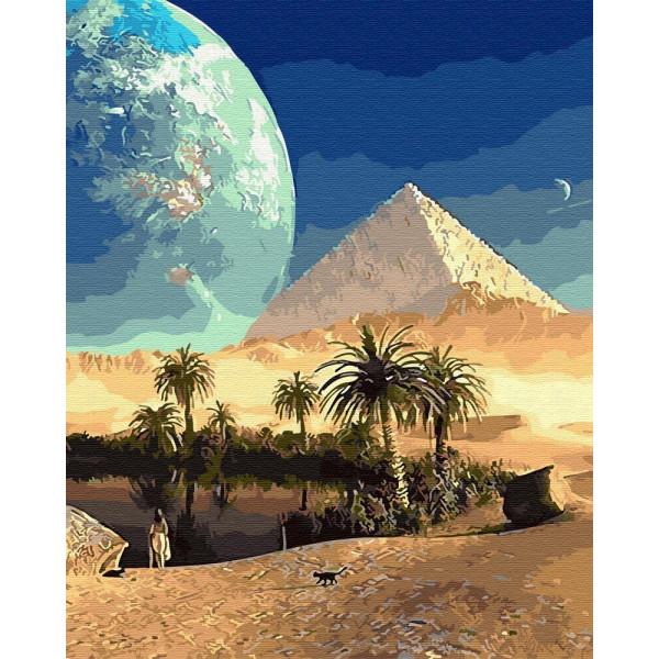 """Картина по номерам """"Величие Египта"""""""