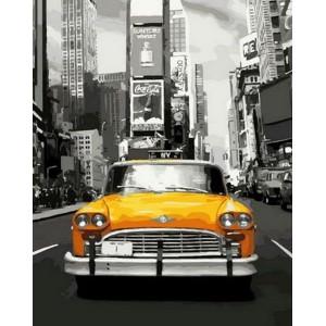 """Картина по номерам """"Нью-Йоркское такси"""""""