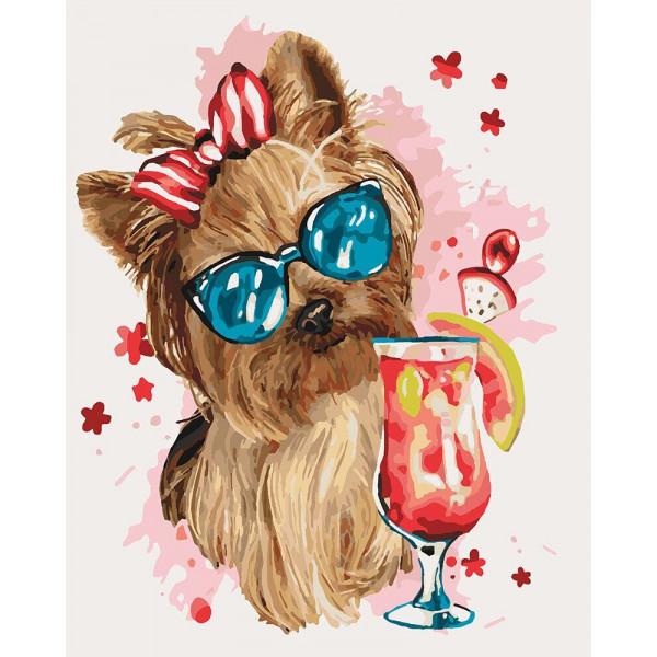 "Картина по номерам ""Cool party"""