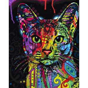 "Картина по номерам ""Абиссинская кошка"""