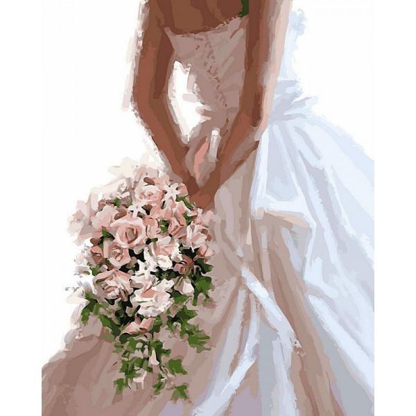 "Картина по номерам ""Букет невесты"""