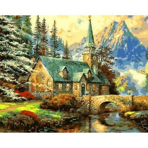 """Картина по номерам """"Альпийский пейзаж"""""""