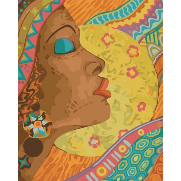 """Картина по номерам """"Африканские краски"""""""