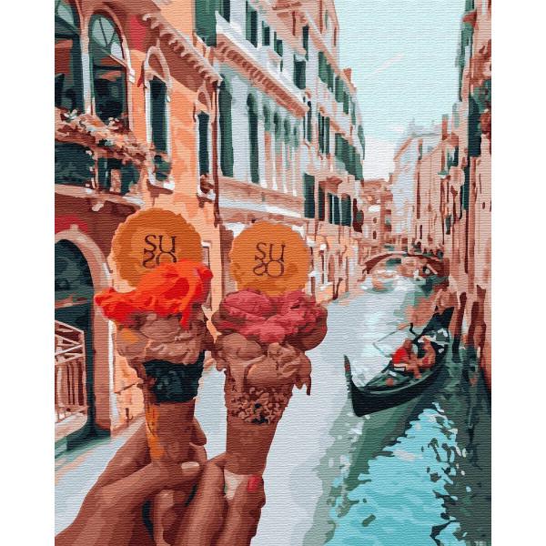 "Картина по номерам ""Джелато в Венеции"""