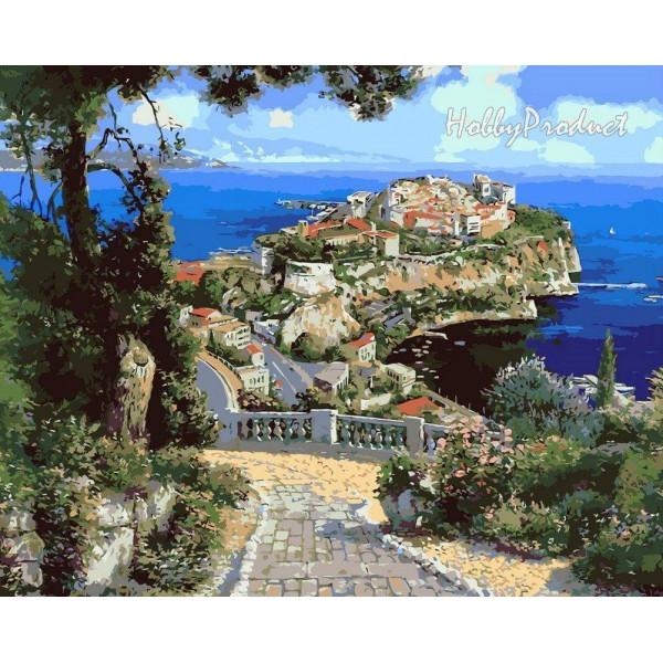 "Картина по номерам ""Дворец Де Монако"""
