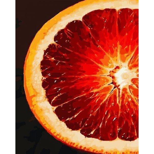 "Картина по номерам ""Грейпфрут"""