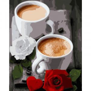 """Картина по номерам """"Coffee"""""""