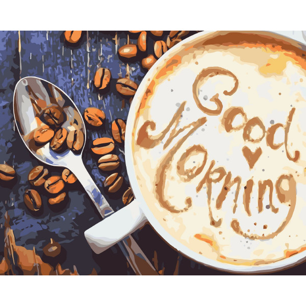 "Картина по номерам ""Good Morning"""