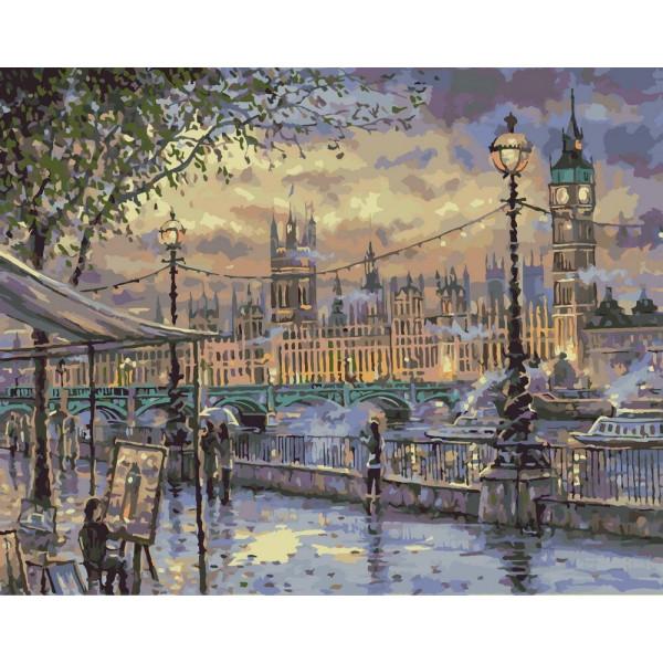 "Картина по номерам ""Вечерний Лондон"""