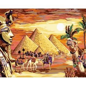 """Картина по номерам """"Загадочный Египет"""""""