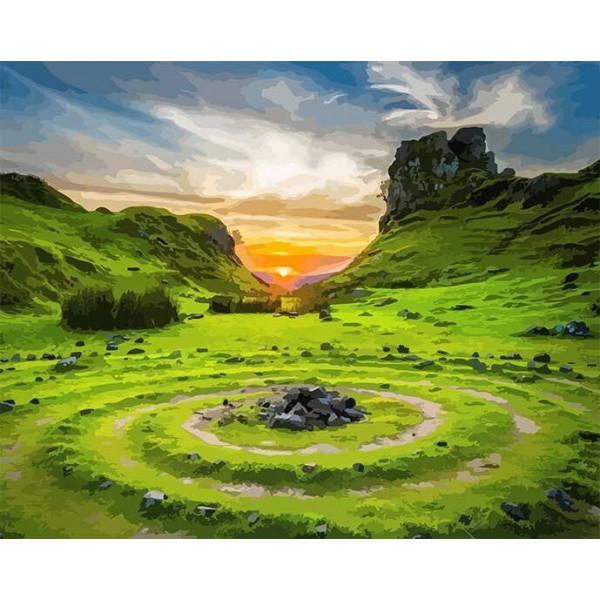 """Картина по номерам """"Долина фей. Шотландия"""""""