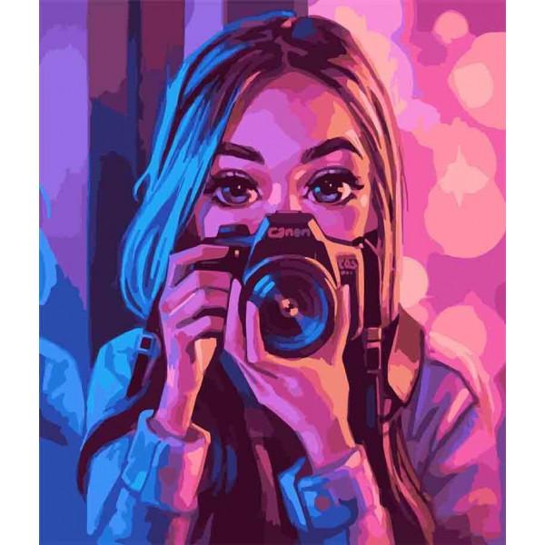 """Картина по номерам """"Взгляд художника"""""""