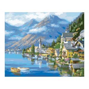 "Картина по номерам ""Австрийский пейзаж"""