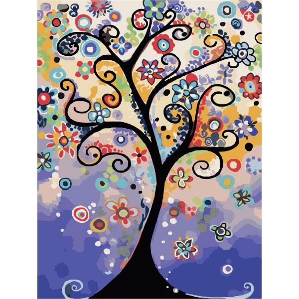 "Картина по номерам ""Дерево мечты"""