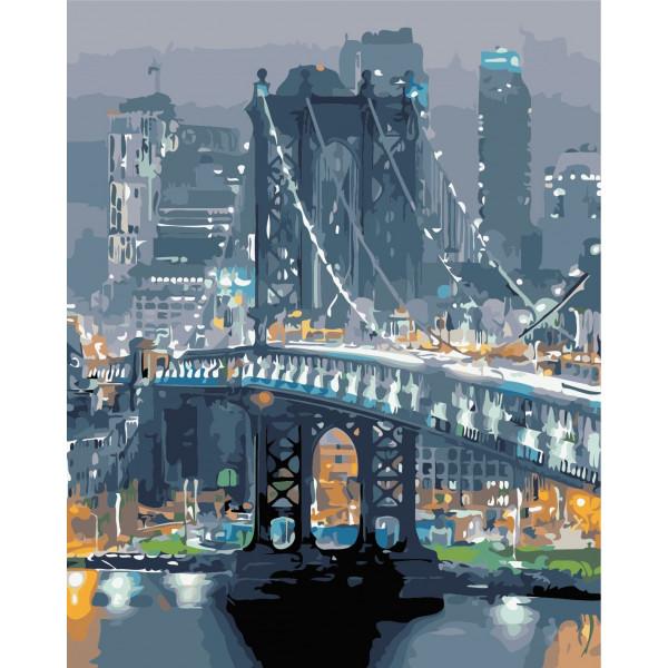 """Картина по номерам """"Бруклинский мост"""""""