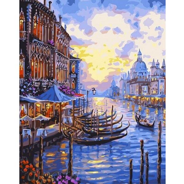 """Картина по номерам """"Венецианский пейзаж"""""""