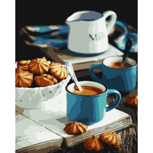"""Картина по номерам """"Ароматный завтрак"""""""