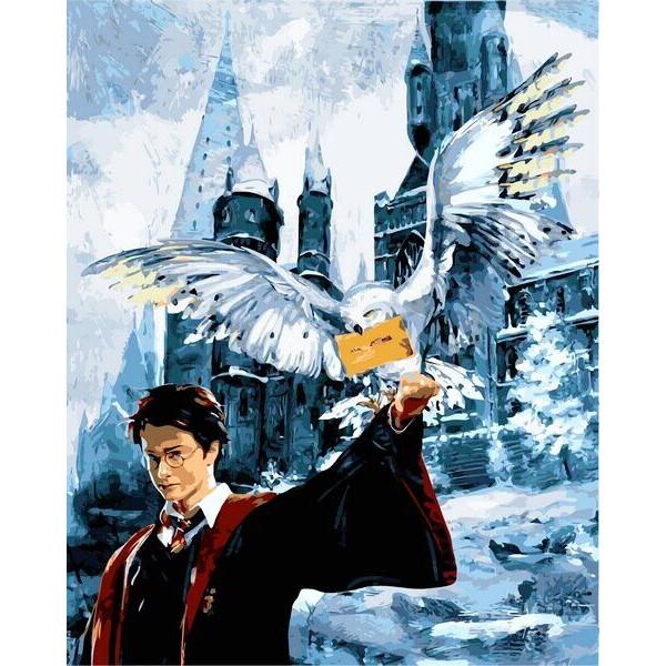 "Картина по номерам ""Гарри Поттер. Письмо из Хогвартса"""