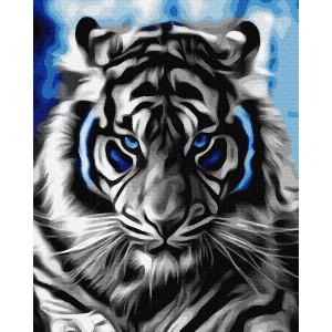 """Картина по номерам """"Абстрактный тигр"""""""
