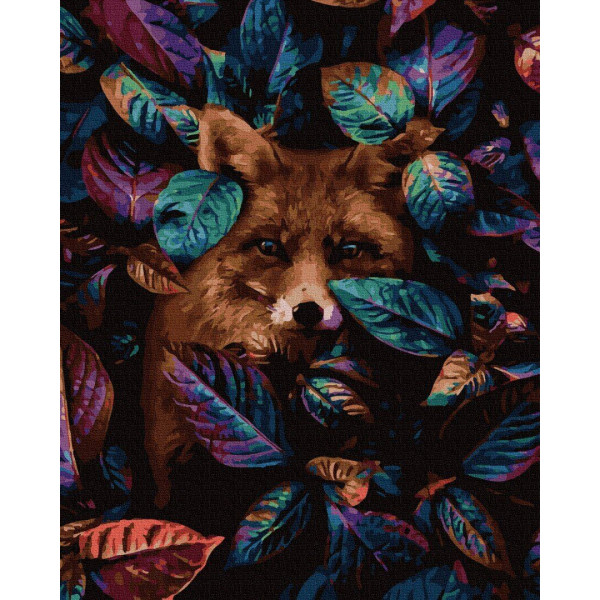 """Картина по номерам """"Взгляд лисы"""""""