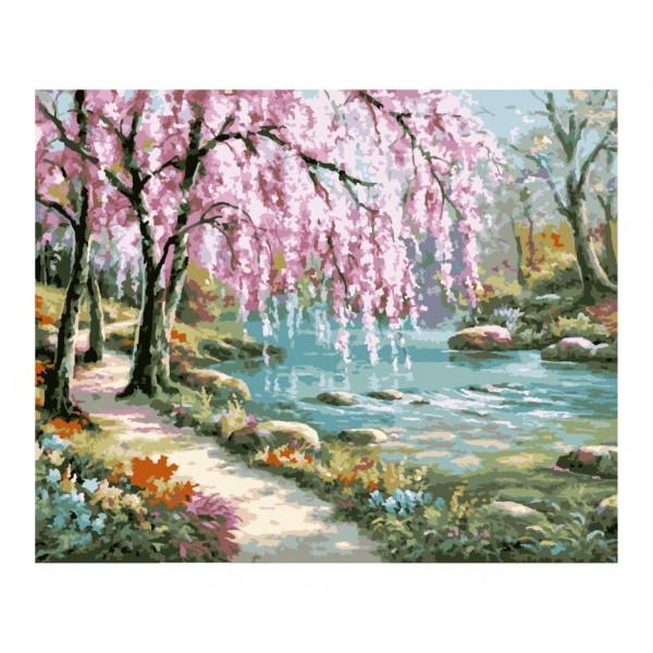 "Картина по номерам ""Волшебный сад"""