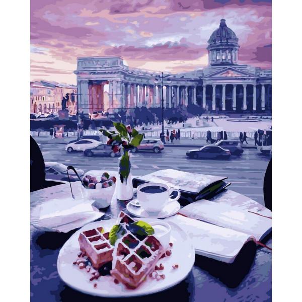 """Картина по номерам """"Бельгийские вафли"""""""