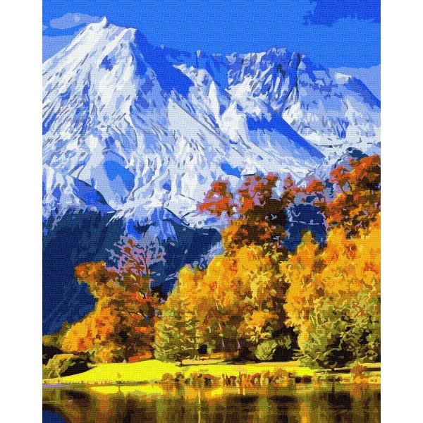 """Картина по номерам """"Живописные горы"""""""