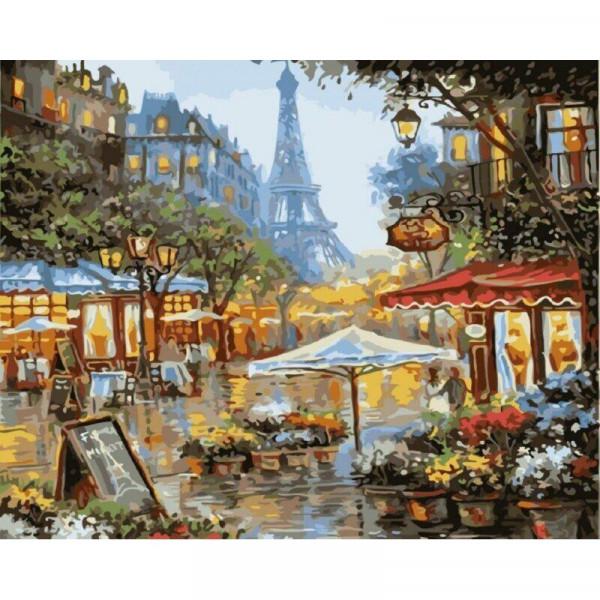 "Картина по номерам ""Бульвар Парижа"""
