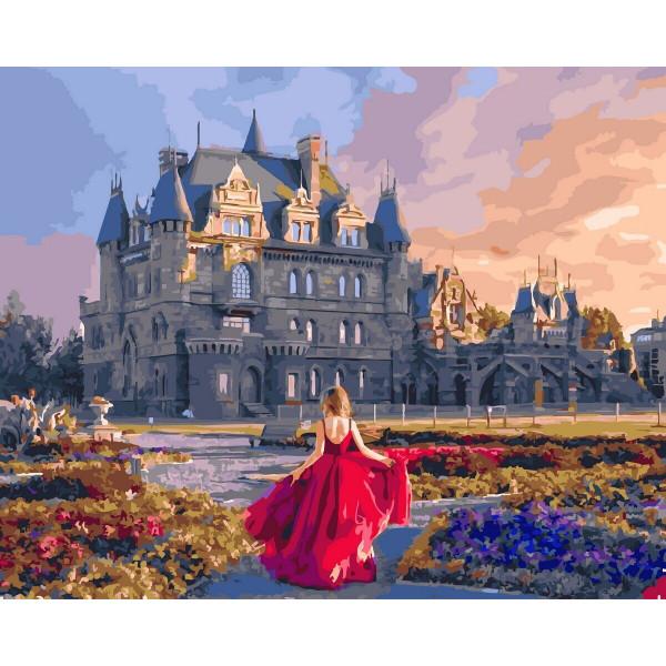 "Картина по номерам ""Английский замок"""