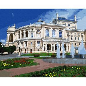 "Картина по номерам ""Одесский театр оперы и балета"""