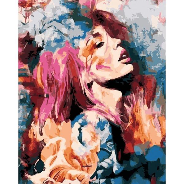 """Картина по номерам """"Абстрактная красота"""""""