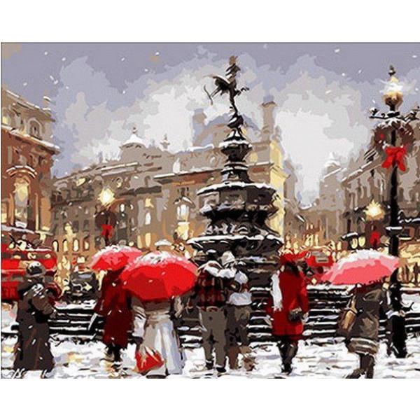 """Картина по номерам """"В ожидании Рождества"""""""
