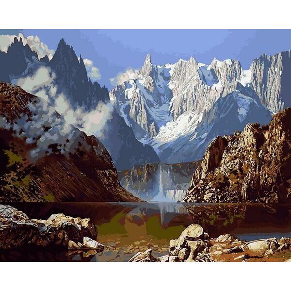 """Картина по номерам """"Величественные горы"""""""