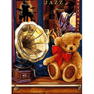 """Картина по номерам """"Воспоминание о джазе"""""""