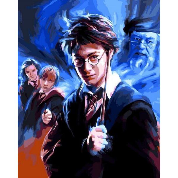 "Картина по номерам ""Гарри Поттер"""